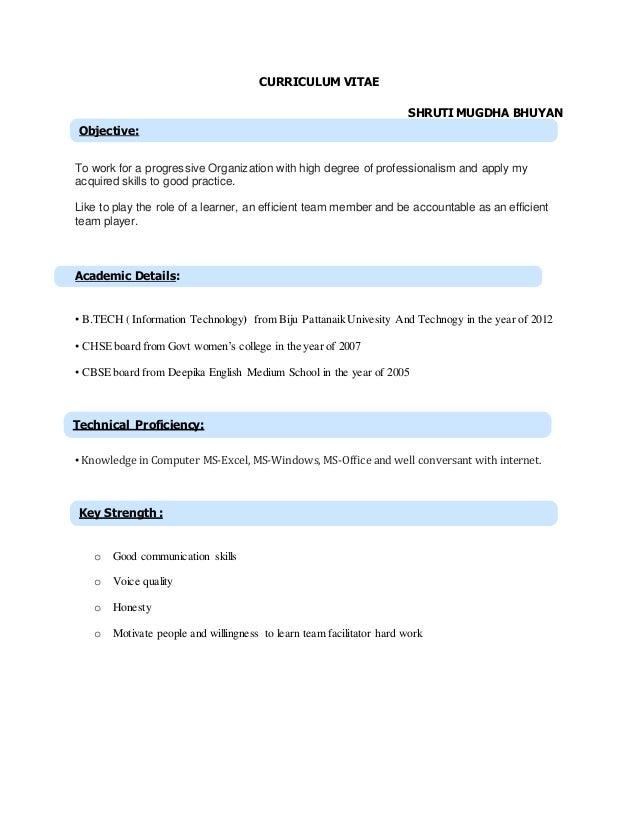 shruti new updated resume