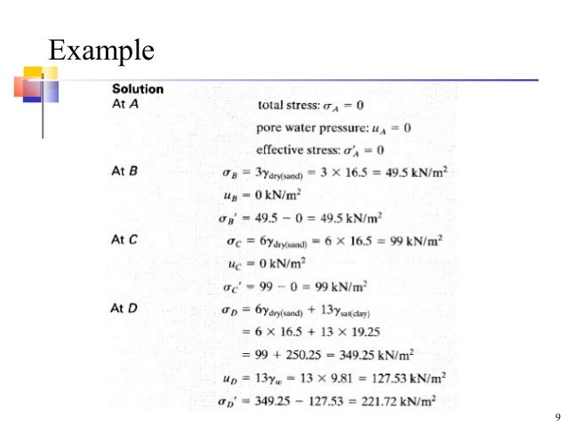 Solved: example 6: effective stress the concrete bridge pi.