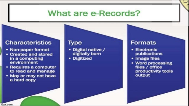 6 Electronic Records Management