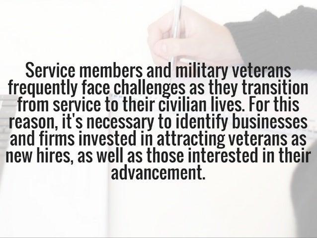 6 Employers Focused On Boosting Veterans & Hiring Them As Team Members | Michael G. Sheppard Slide 2