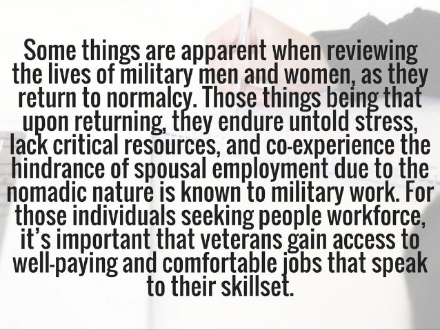 6 Employers Focused On Boosting Veterans & Hiring Them As Team Members | Michael G. Sheppard Slide 3