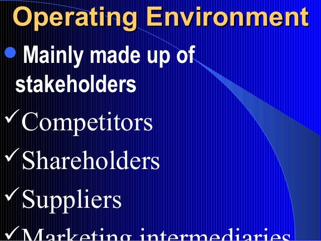 internal and external enviornment cadbury The theoretical results showed that internal and external environment analysis have a significant effect on the of external and internal environment analysis and.