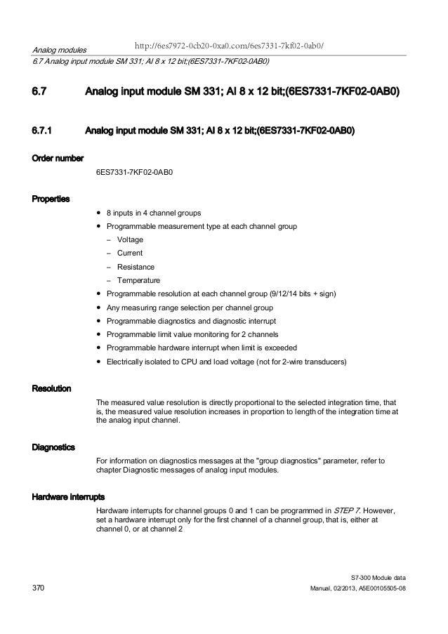 6es7331-7kf02-0ab0 manual.