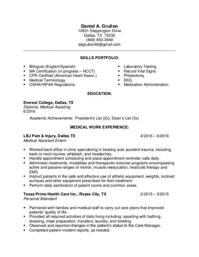 Daniel Grullon Resume