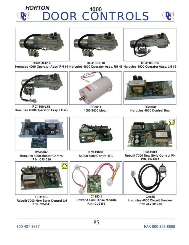 door control book with stanley numbers 8715 85 638?cb\=1439339398 horton c2150 wiring diagram control box wiring diagrams horton c2150 wiring diagram at suagrazia.org