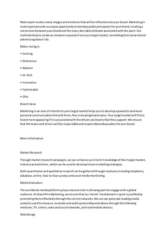 Sponsorship Letter Improved – Personal Sponsorship Letter