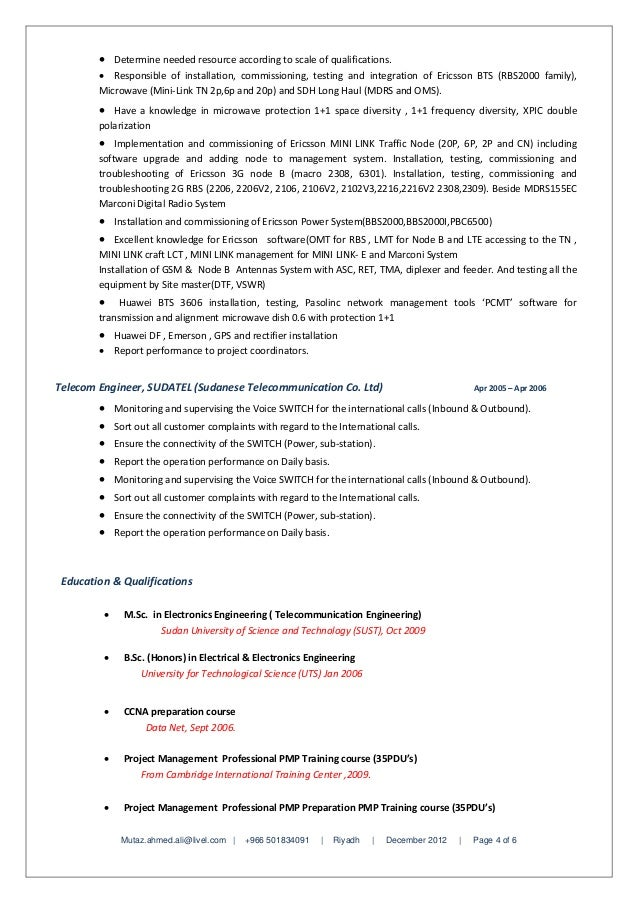 Eng Mutaz Ahmed Ali (Senior Project Manager Resume)