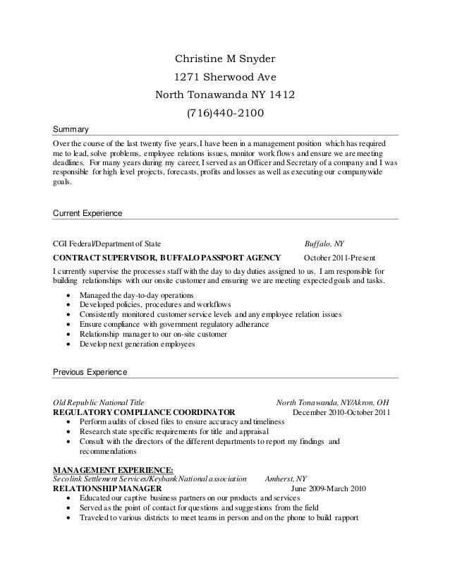 what goes on a resume christine m snyder resume 1271