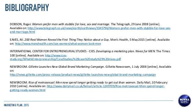 developing the marketing plan case gillette