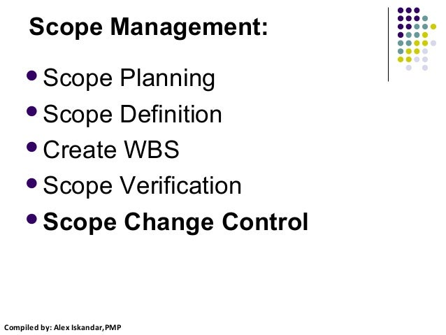 Project Scope Change Management
