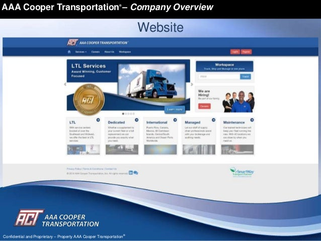 Aaa Cooper Tracking >> AACT Company Master Overview 8 w HoppersO TL _011314
