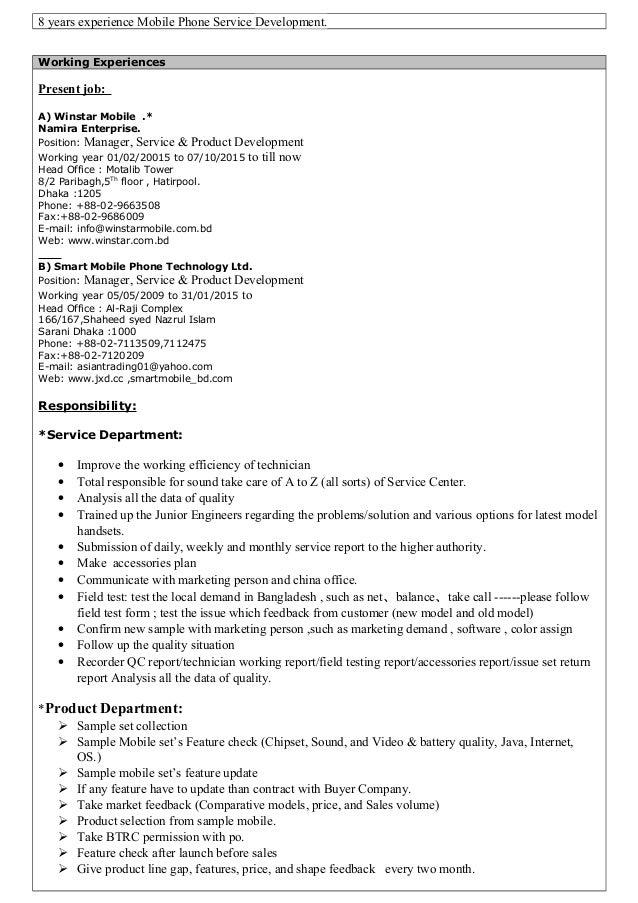 resume of md masud rana