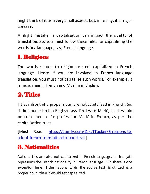 6 facts in french translation often ignored by translators for Floor in french translation