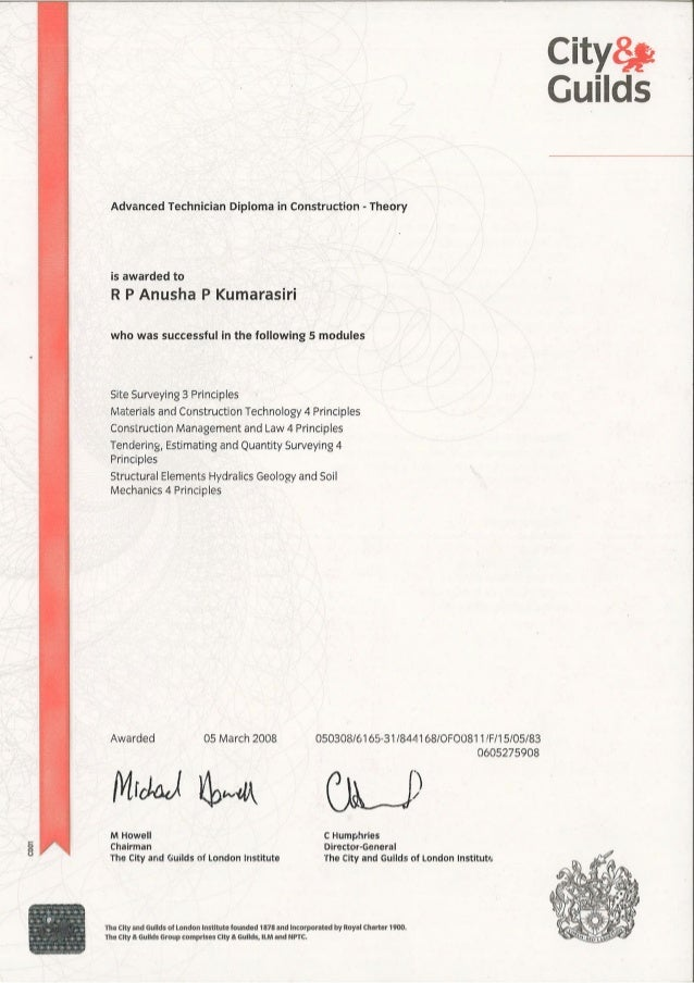 guilds advanced diploma in civil engineering city guilds advanced diploma in civil engineering