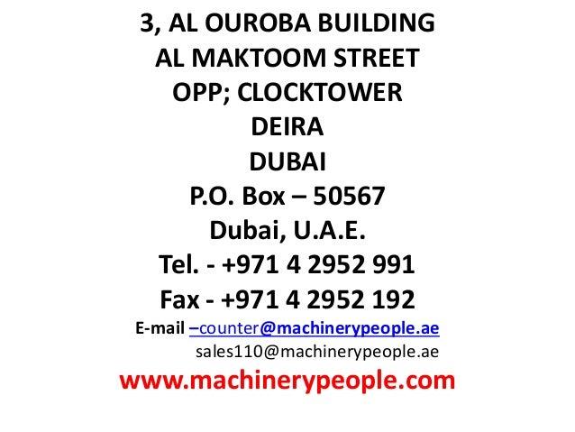 Presentation MACHINERY PEOPEL by ram MP5