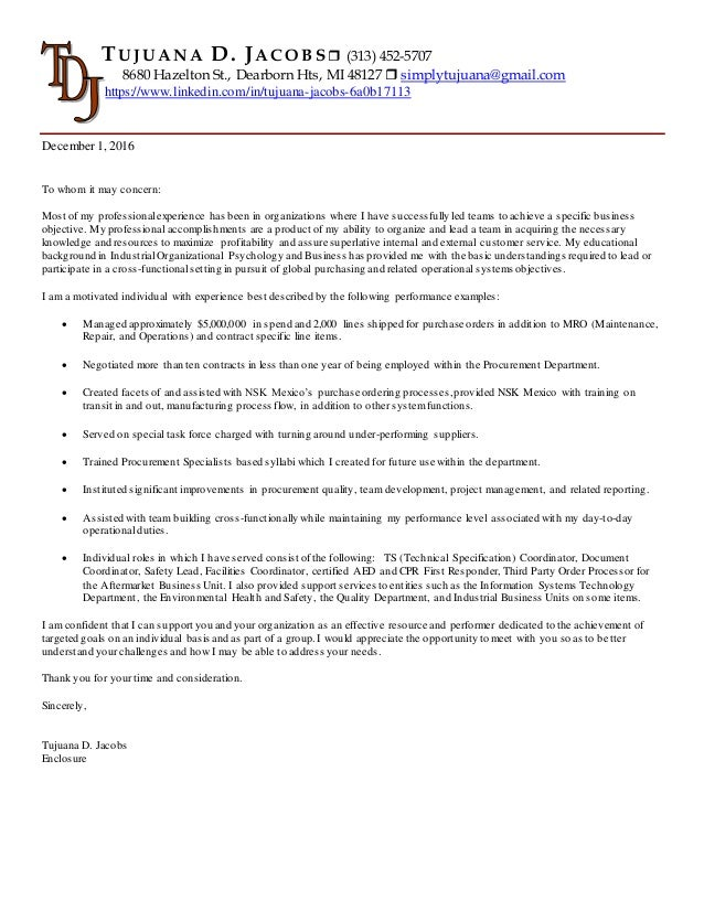 Tujuana Jacobs\' Cover Letter Rev