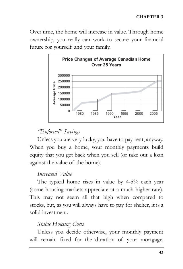 From marriages to mortgages ebook 45 over time the home will increase in value fandeluxe Gallery