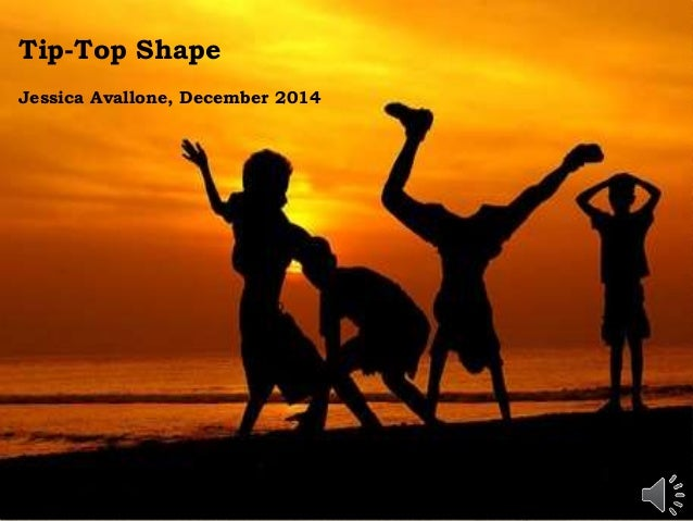 Tip-Top Shape Jessica Avallone, December 2014