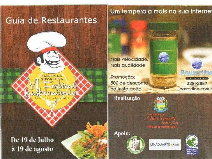 VI Festival Gastronômico de Lima Duarte