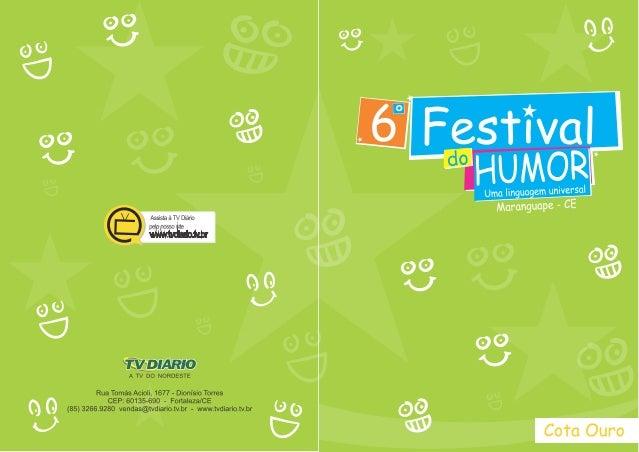 6º festival do humor 30.07