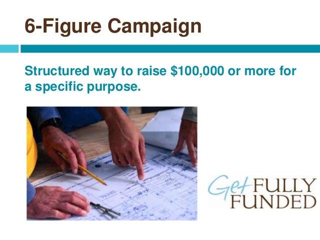 6 Figure Fundraising Slide 2