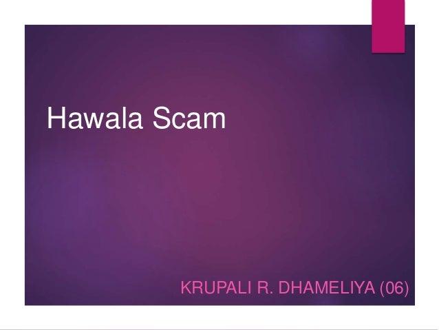Hawala Scam KRUPALI R. DHAMELIYA (06)
