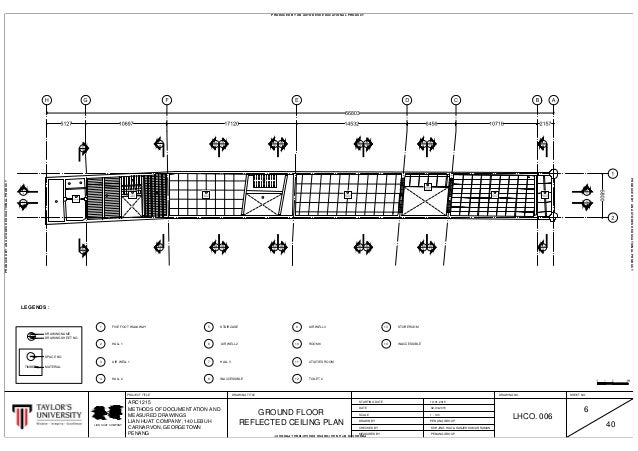 6 Finalised Ground & First Reflected Ceiling Plan Ready