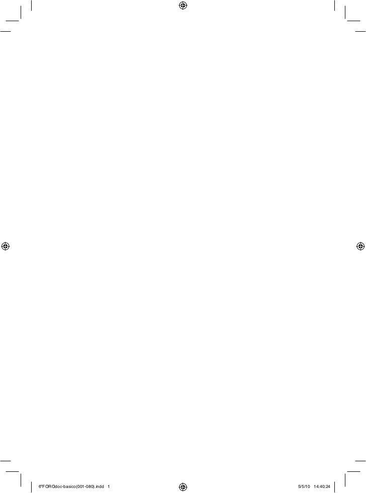 6ºFOROdoc-basico(001-080).indd 1   5/5/10 14:40:24