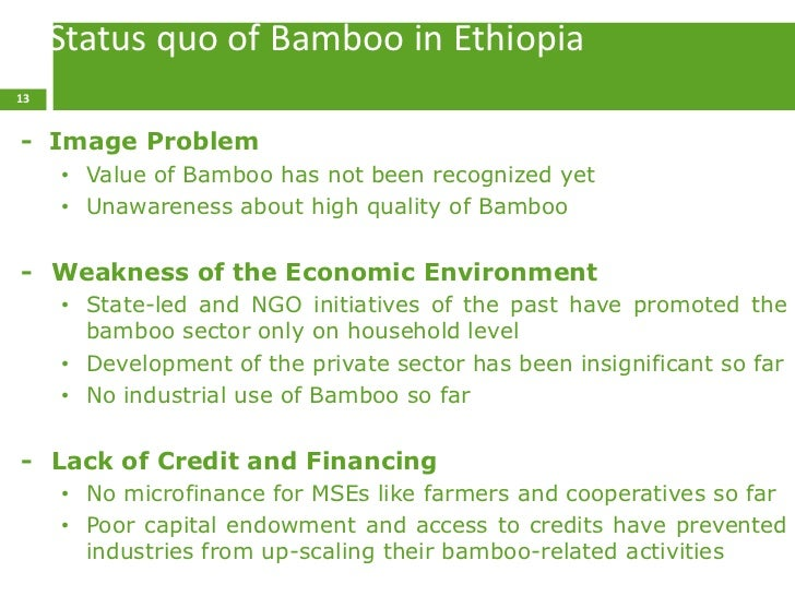 Microfinance sector in ethiopia strengths and weaknesses
