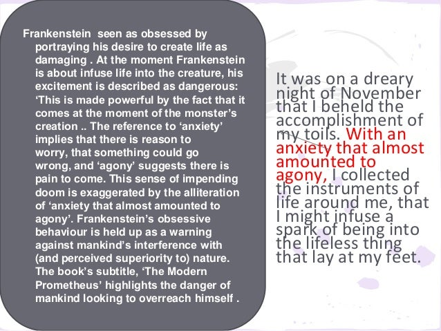 frankenstein chapter 5 essay A summary of chapters 3-5 in mary shelley's frankenstein learn exactly what happened in this chapter, scene, or section of frankenstein and what it means perfect for acing essays, tests, and quizzes, as well as for writing lesson plans.