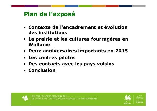 Quelles pratiques du conseil fourrager en Belgique Slide 2