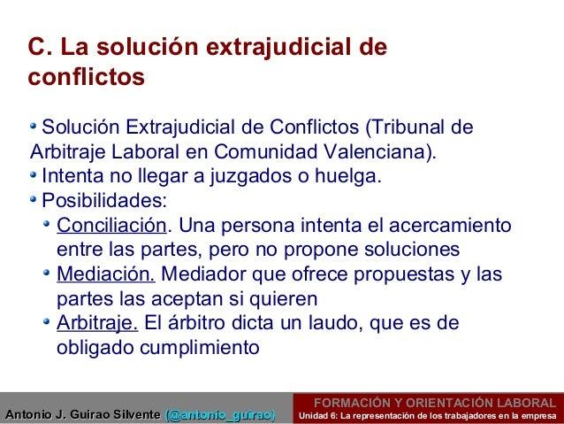 Unidad 6gm participaci n de los trabajadores for Que es un proceso extrajudicial