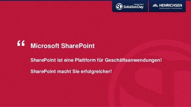 """Microsoft SharePointSharePoint ist eine Plattform für Geschäftsanwendungen!SharePoint macht Sie erfolgreicher!"""""""