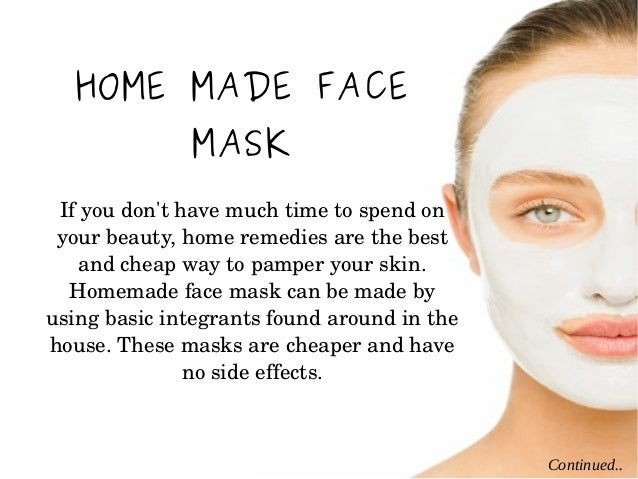 Home facial skin care