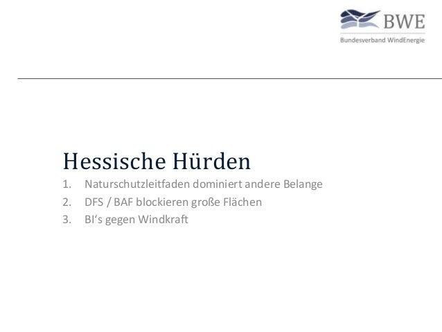 Die 6 Hürden der Windenergie in Hessen Slide 2