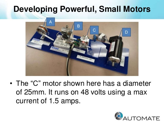 Leading robotics research smac direct drive servo motor for Direct drive servo motor