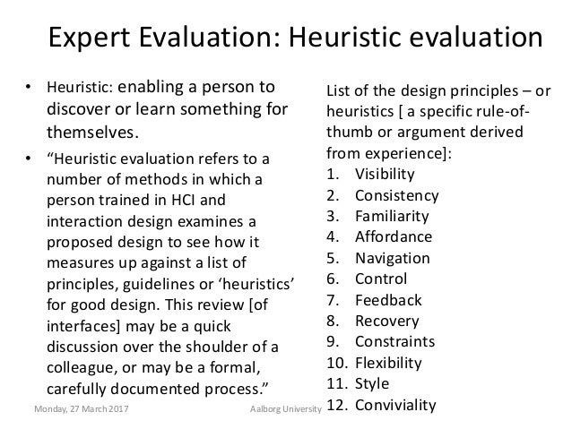 Evaluation Of Interactive Systems Design Or Prototype Or