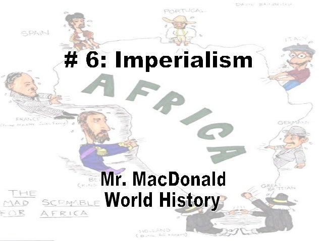 The Scramble For AfricaLearning Outcomes1. Define imperialism and explainmotivations for colonization in theindustrial era...
