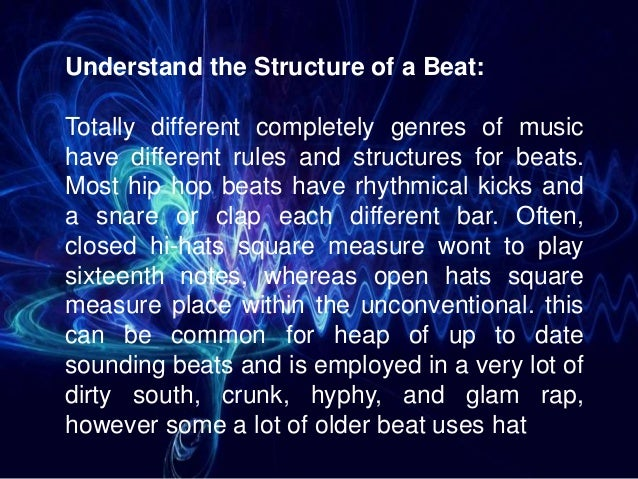 6 important steps to create a rap beat