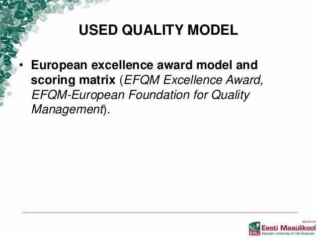 an analysis of quality or excellence Quality criteria for website excellence - world best web site awards - best quality design - best practices in website design quality management history, gurus, tqm theories, process improvement, an analysis of quality or excellence and organizational 'excellence' the history of quality management, from mere .