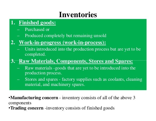 inventory valuation in the film industry Inventory valuation 201 valuation of inventory the inventories held by a business invariably have considerable value and tie up a lot of money at the end of the financial year, it is essential for a company to make a physical inventory count and to.