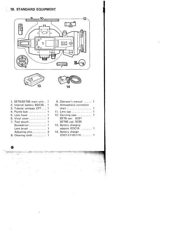 Sokkia set6 manual
