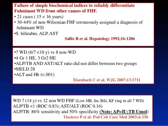 Diagnostic Challenges In Wilson Disease Do Scoring Systems Help D