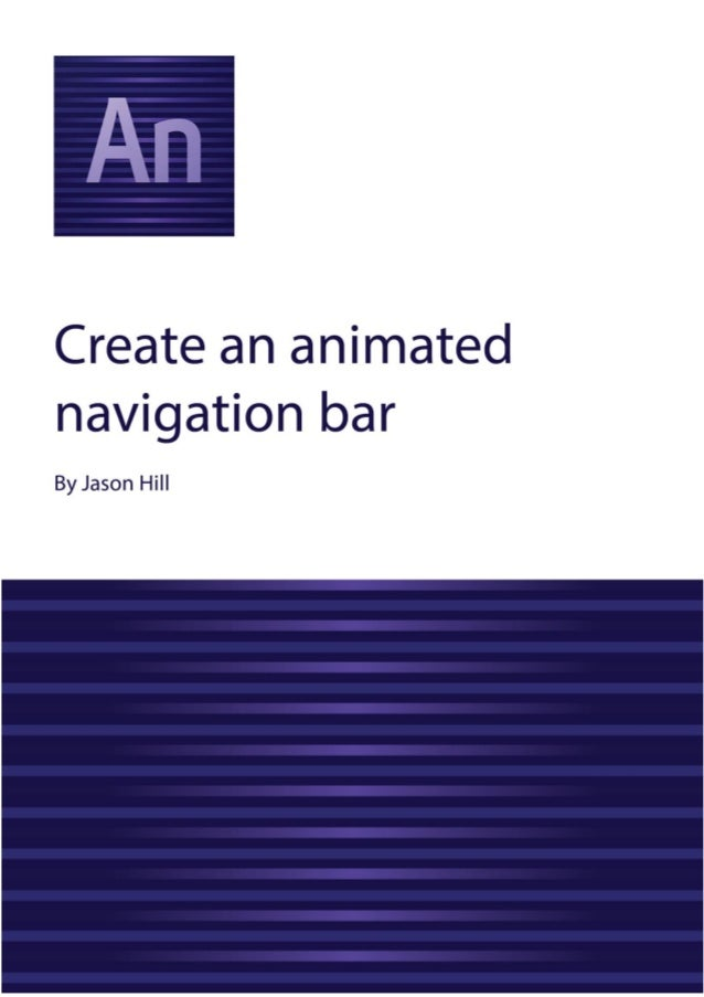 how to create navigation bar in html5