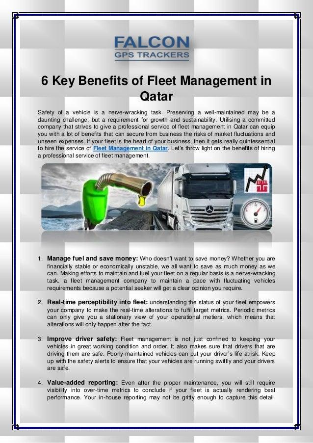 6 Key Benefits of Fleet Management in Qatar