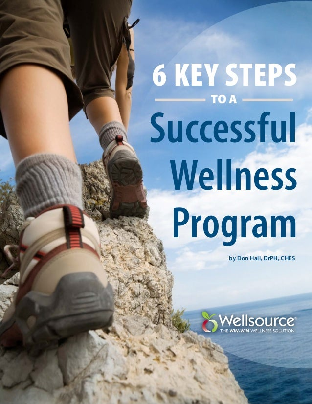 6 Key Steps TO A  Successful Wellness Program by Don Hall, DrPH, CHES