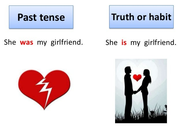 Dating past tense