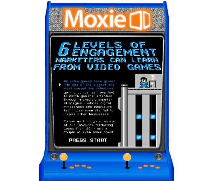 6 Levels Of Engagement Marketers Can Learn From Video Games