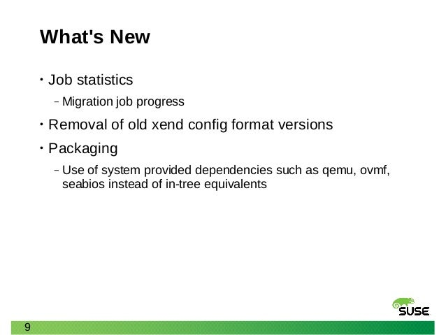 XPDS16: libvirt and Tools: What's New and What's Next - James Fehlig,…