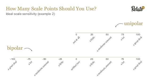 How Many Scale Points Should You Use? Sensitivity reduced as scale points removed neither like nor dislike like a great de...